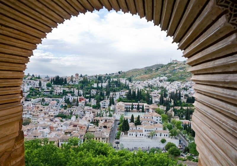 Granada moldou imagem de stock royalty free
