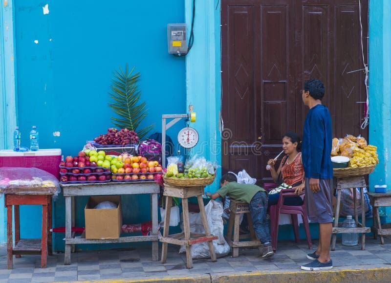 Granada Nicaragua arkivfoto