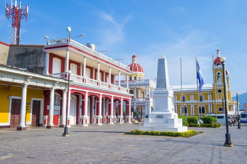 Granada, Nicaragua royalty-vrije stock afbeelding