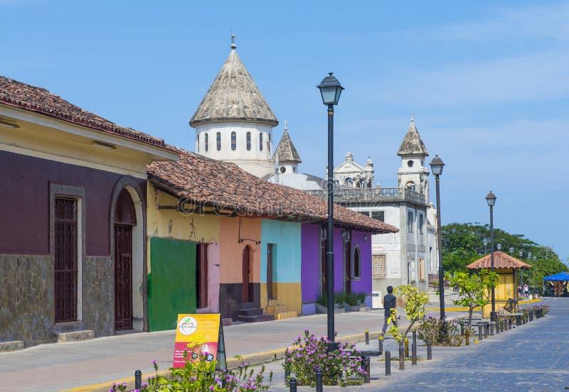Granada, Nicaragua royalty-vrije stock afbeeldingen