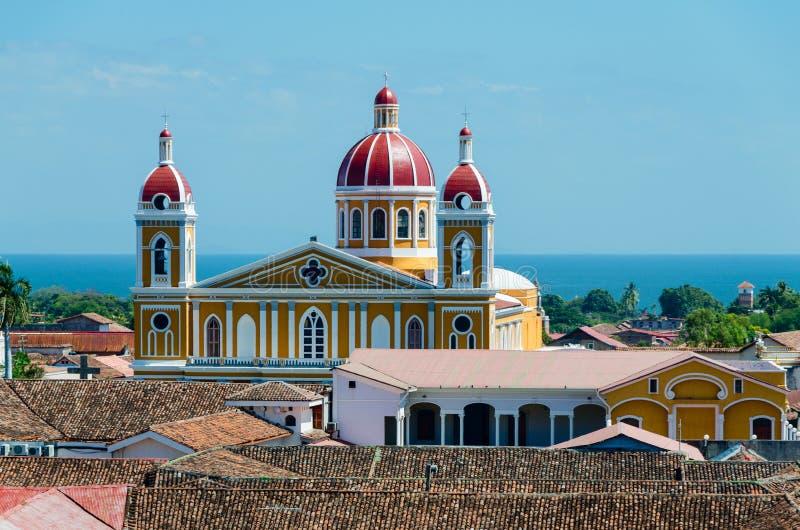 Granada Nicaragua stock foto's