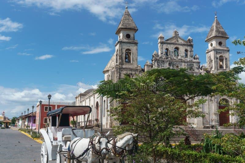 """Granada, Nikaragua †""""Grudzień 21, 2016: zdjęcia stock"""