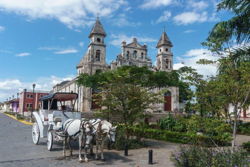 """Granada, Nikaragua †""""Grudzień 21, 2016: zdjęcie stock"""