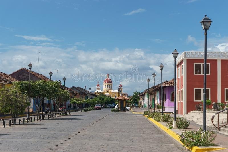 "Granada, Nikaragua †""Grudzień 21, 2016: obraz royalty free"