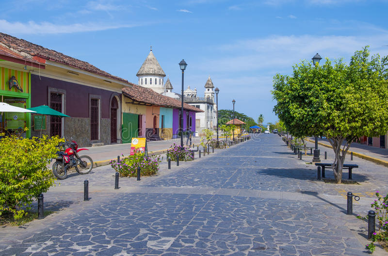 Granada, Nikaragua zdjęcia royalty free