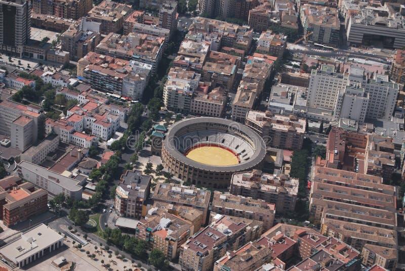 Granada od powietrza obraz royalty free