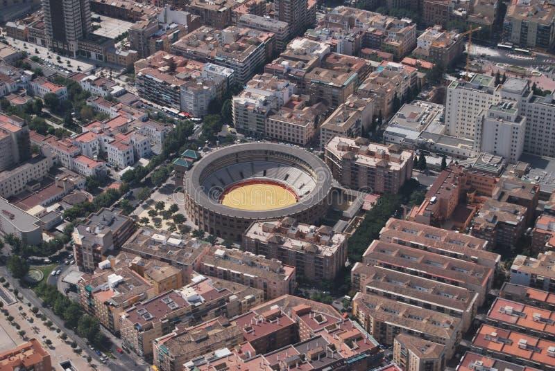 Granada od powietrza zdjęcia stock