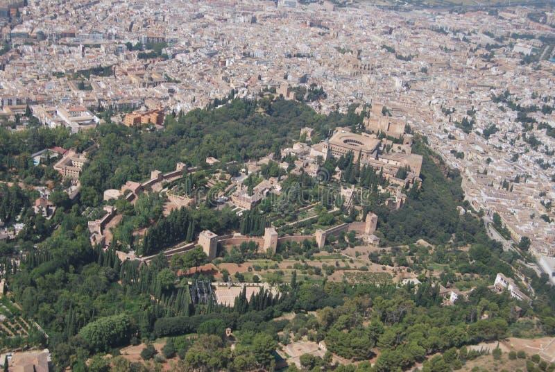 Granada od powietrza zdjęcie stock