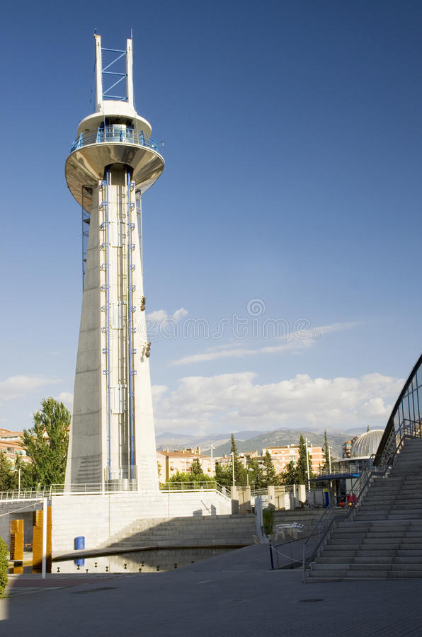 Download Granada science park tower stock photo. Image of park - 26743350