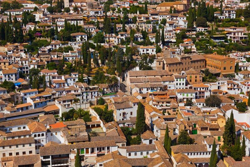 Granada Spanien fotografering för bildbyråer