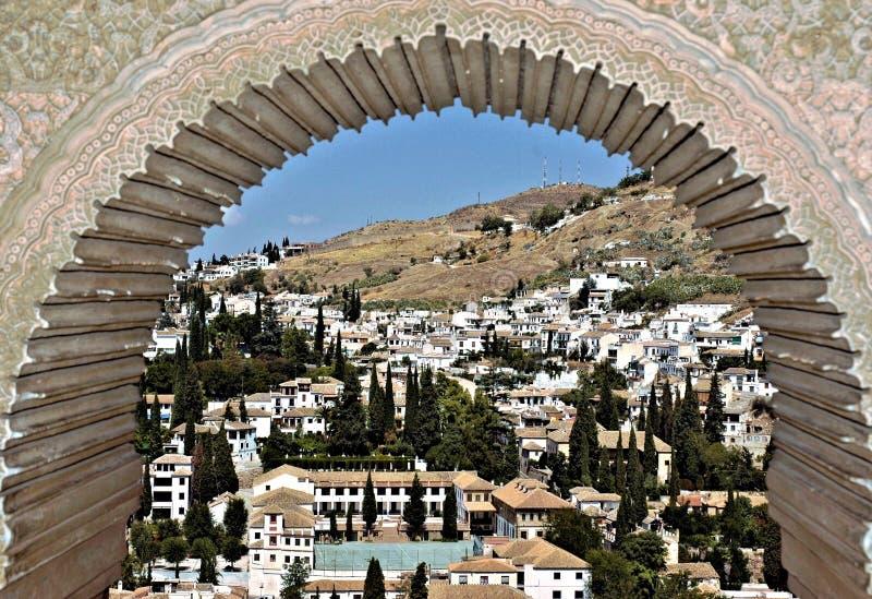 Granada, Spanje royalty-vrije stock foto