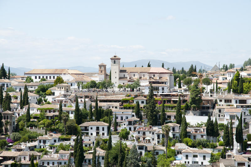 Granada - Spanje royalty-vrije stock foto's