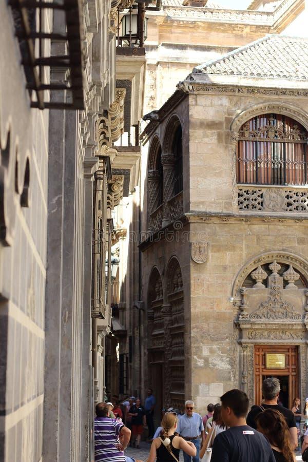 Granada ulicy obraz stock