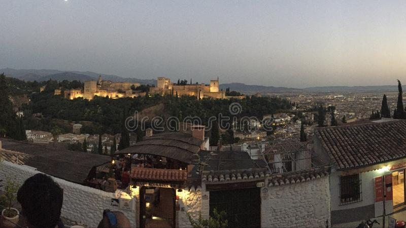 Granada royalty free stock image