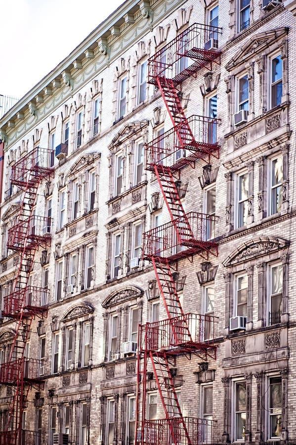 Granai & appartamenti di Soho fotografie stock