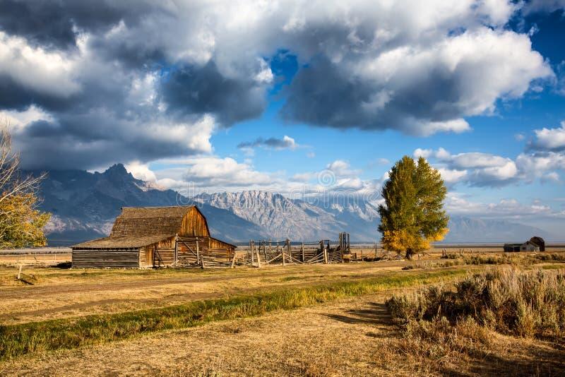 Granai mormonici fotografia stock libera da diritti