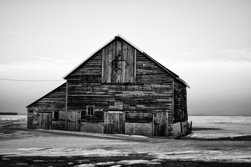 Granaio americano fotografia stock