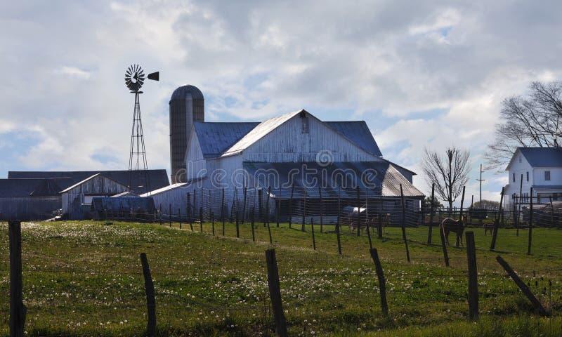 Granaio dei Amish fotografia stock