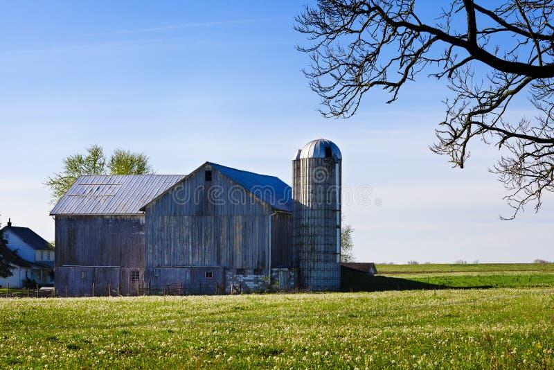 Granaio dei Amish immagini stock libere da diritti