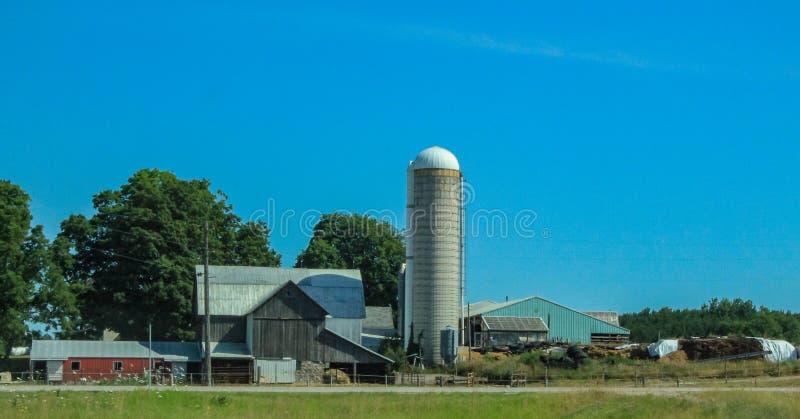 Granaio 2 del Michigan immagine stock libera da diritti