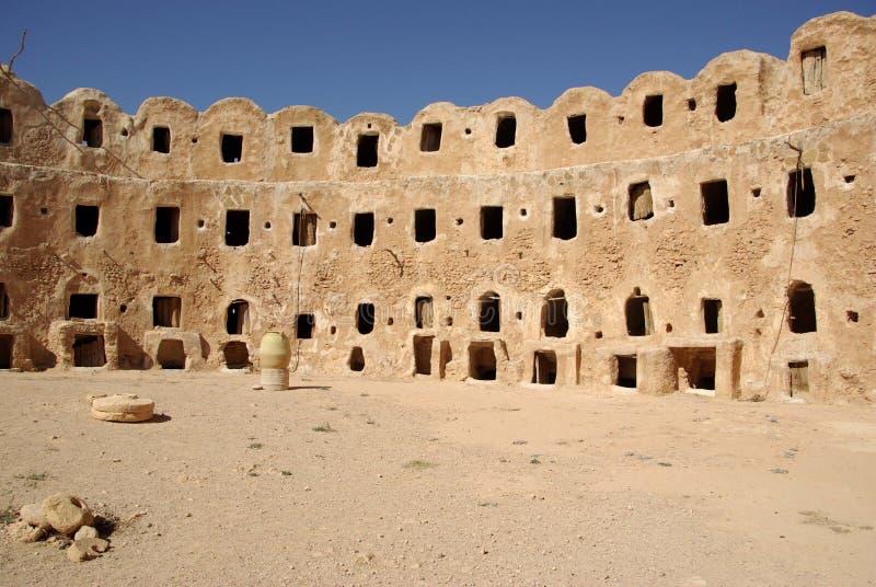 Granaio di Berber, Libia immagine stock