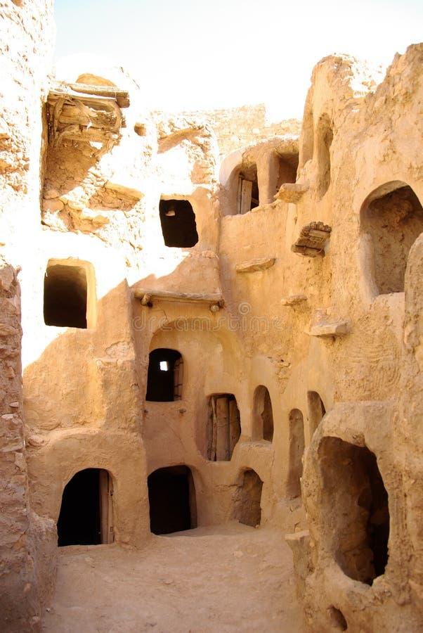 Granaio di Berber, Libia fotografia stock libera da diritti