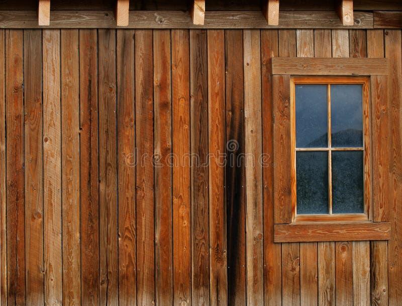 Granaio e finestra immagine stock