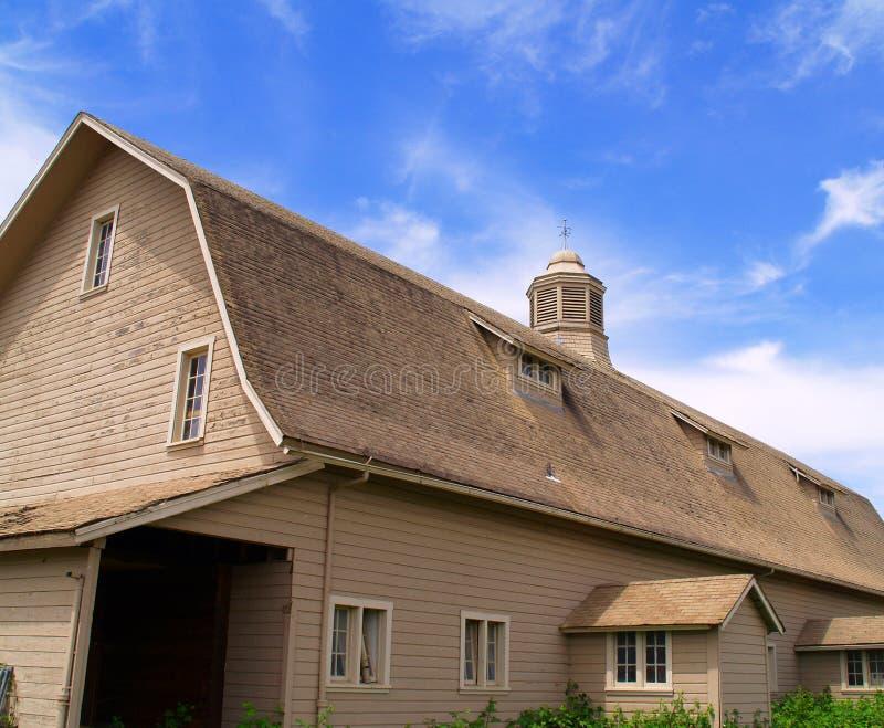 Granaio rurale fotografie stock