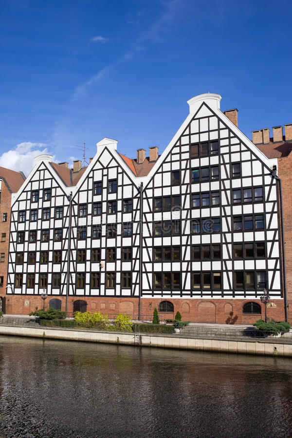 Download Granaries in Gdansk stock image. Image of traditional - 21808755
