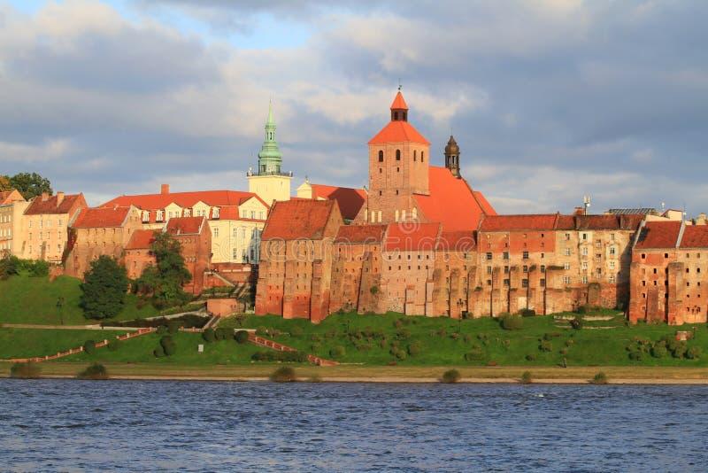 Download Granaries of Grudziadz stock image. Image of town, europe - 16519531