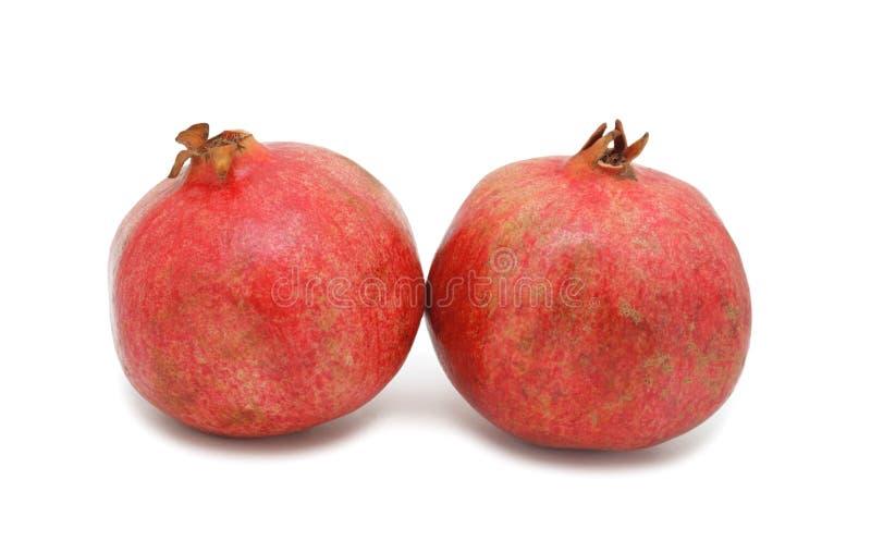 Granatäpfel, getrennt stockfotos