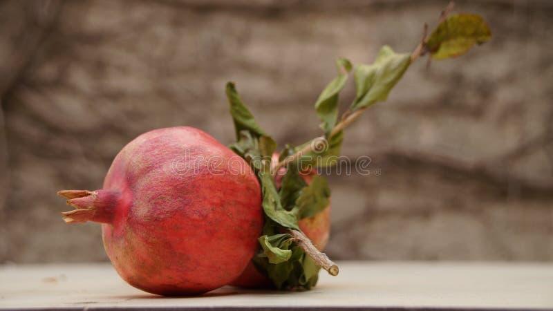 Granatäpple Rosh Hashanah som speciellt är saftig royaltyfri bild