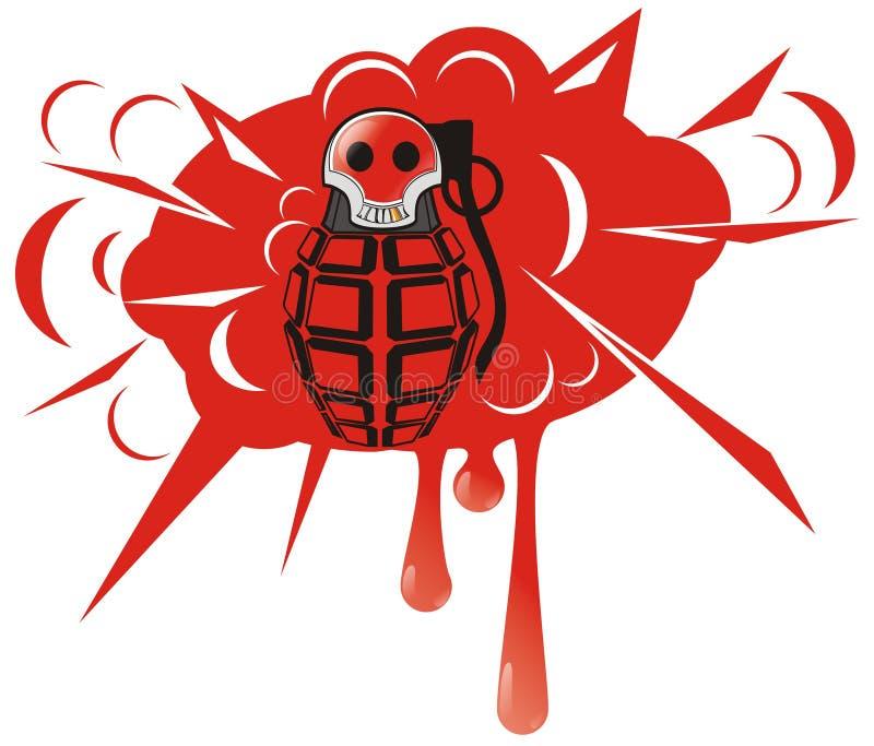 granat royalty ilustracja