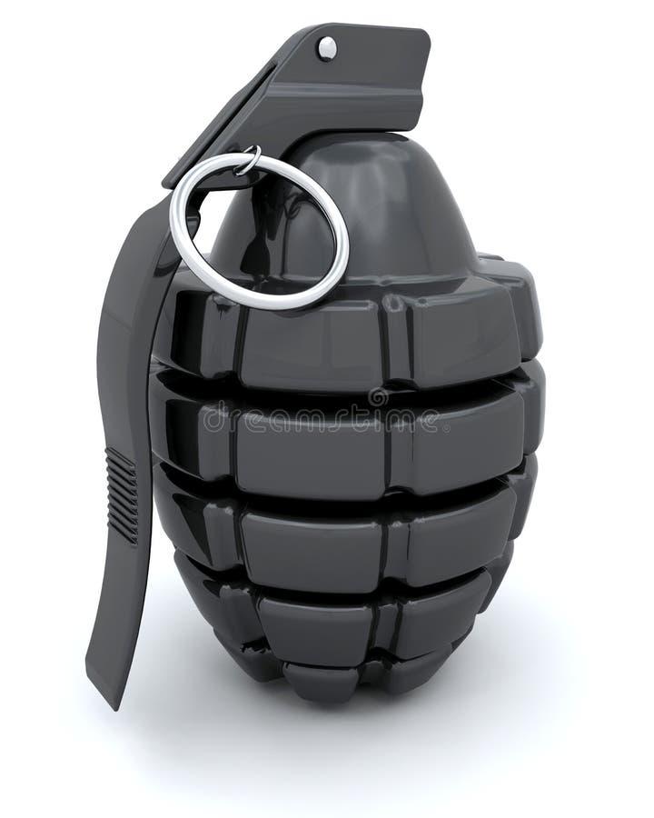 granat ręka ilustracji