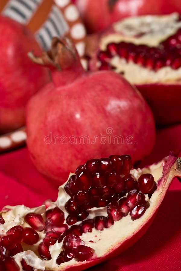Granatapfel stockfoto