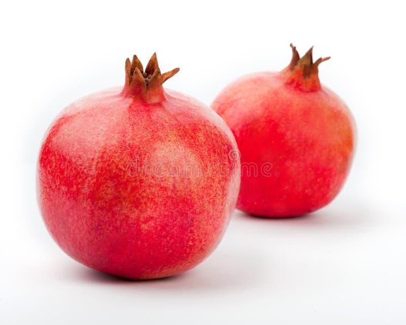 Granatapfel auf einem Weiß stockfoto