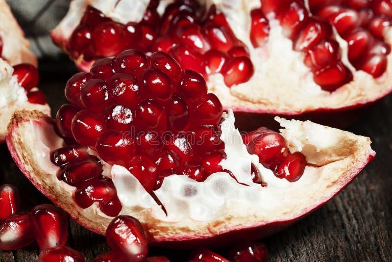 Granatapfel-Samen stockfotografie