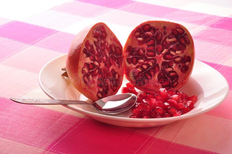 Granatapfel slad stockfoto
