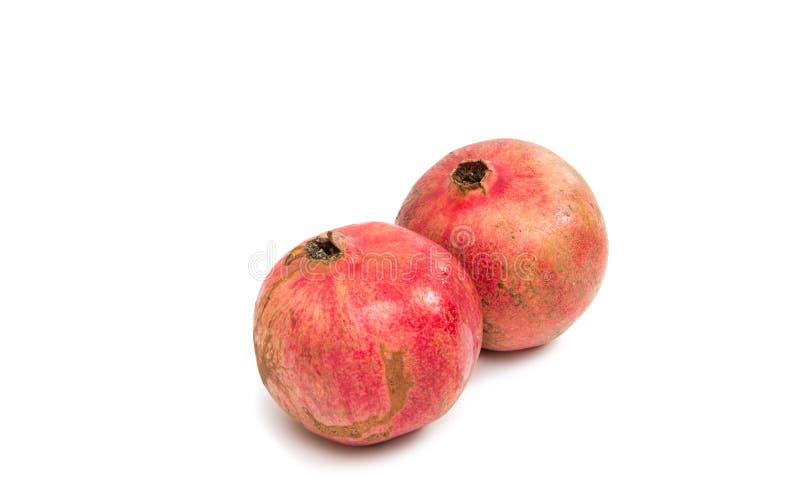 Granatapfelfrucht getrennt stockbilder