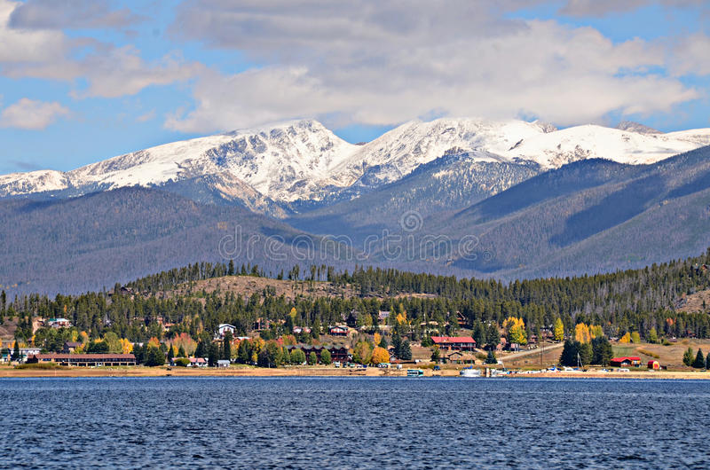 Granbymeer, Colorado royalty-vrije stock afbeelding