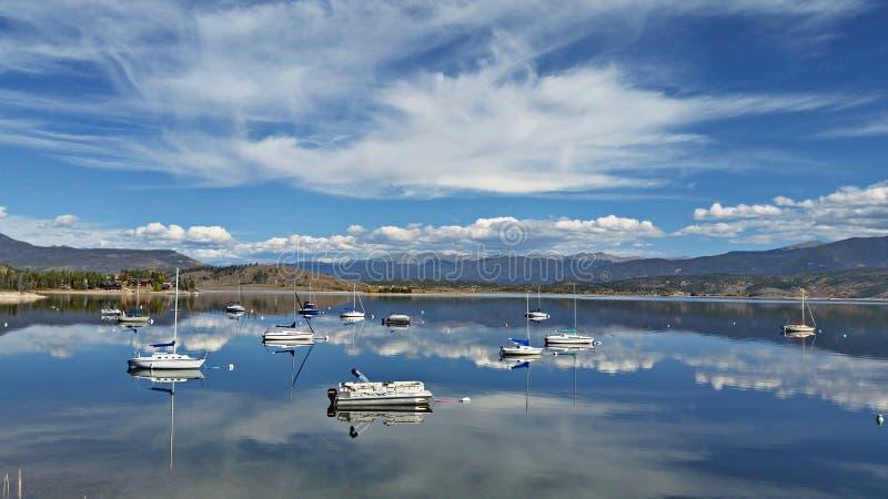 Granbymeer, Colorado royalty-vrije stock afbeeldingen