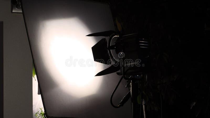 Grand équipement de lumière de studio de LED photo stock