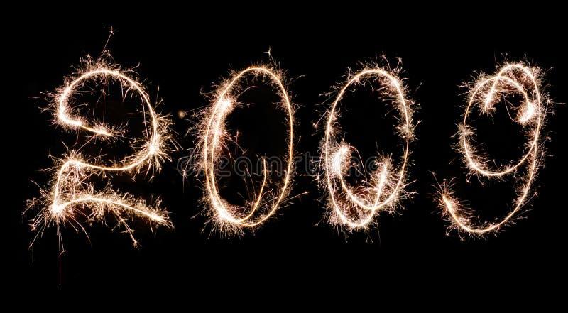 grand 2009 fajerwerki zdjęcia royalty free
