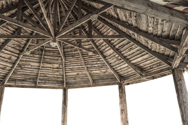 Grand abri en bois photos stock