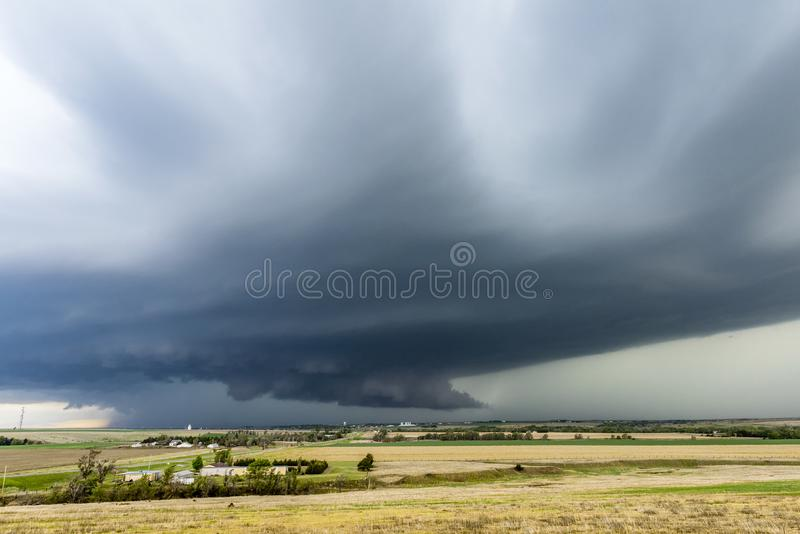 Grand apport de Supercell de Tornadic photo libre de droits