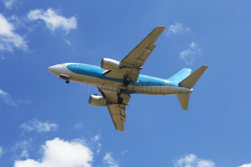 Grand avion à réaction images libres de droits