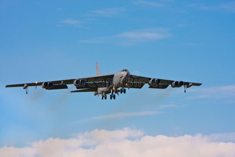 Grand avion B-52 photographie stock