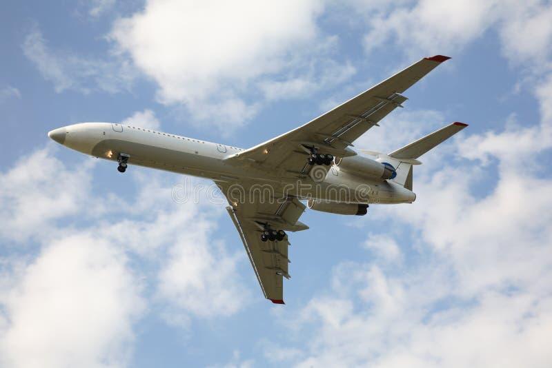 Grand avion de ligne image stock