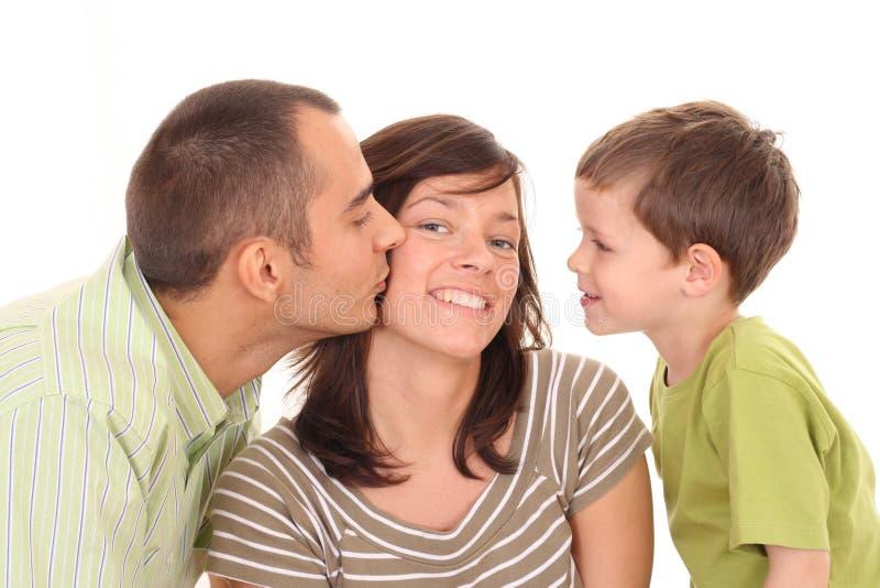 Grand baiser photographie stock libre de droits