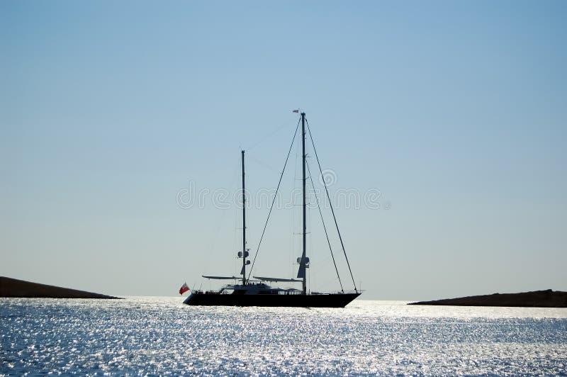 Grand bateau à voile photos libres de droits